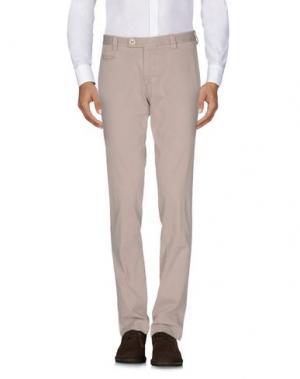 Повседневные брюки BERWICH. Цвет: песочный