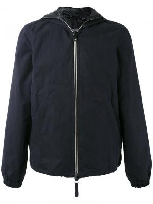Hooded down jacket Duvetica. Цвет: синий