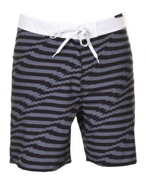 Пляжные брюки и шорты RIPCURL. Цвет: свинцово-серый