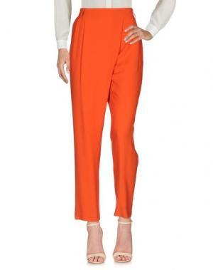 Повседневные брюки BRIAN DALES. Цвет: оранжевый