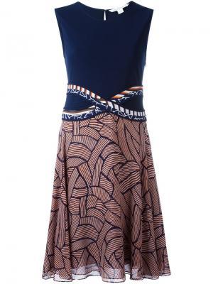 Платье Rosalie Diane Von Furstenberg. Цвет: синий