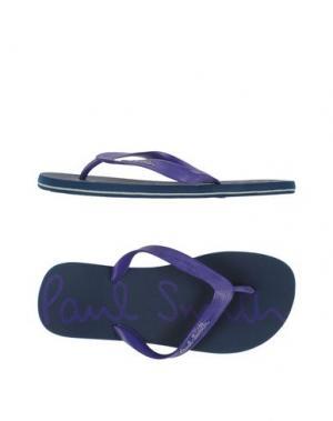Вьетнамки PAUL SMITH. Цвет: фиолетовый