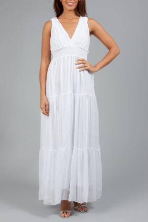 Платье ANABELLE. Цвет: белый