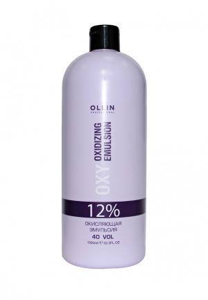 Окисляющая эмульсия 12% Ollin. Цвет: фиолетовый
