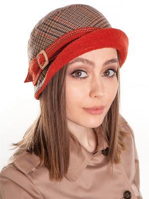 Шляпка LORICCI. Цвет: красный, оранжевый