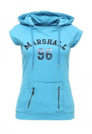 Худи Marshall Original. Цвет: голубой
