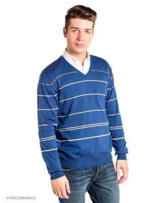 Пуловер RETIEF. Цвет: синий