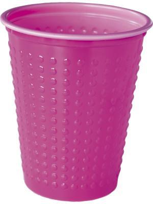 Стаканы пластиковые 200 мл. COLORIX, ., Розовый, 40шт. DUNI. Цвет: розовый