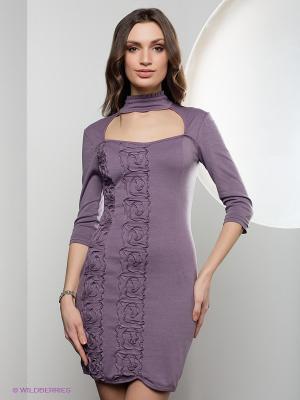 Платье SUGARLIFE. Цвет: сиреневый