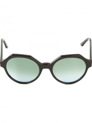 Солнцезащитные очки Mary Kyme. Цвет: чёрный