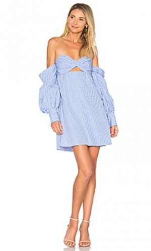 Платье trista Petersyn. Цвет: синий