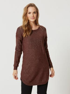 Туника Vero moda. Цвет: коричневый