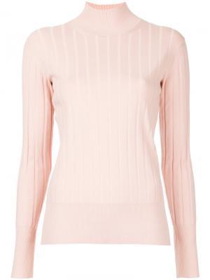 Ribbed jumper Astraet. Цвет: розовый и фиолетовый