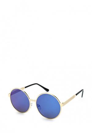 Очки солнцезащитные Kameo-Bis. Цвет: золотой