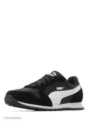Кроссовки ST Runner NL Puma. Цвет: черный