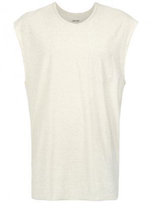 Chest pocket T-shirt Osklen. Цвет: телесный