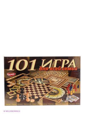 Настольная игра 101 для всей семьи DREAM MAKERS. Цвет: коричневый