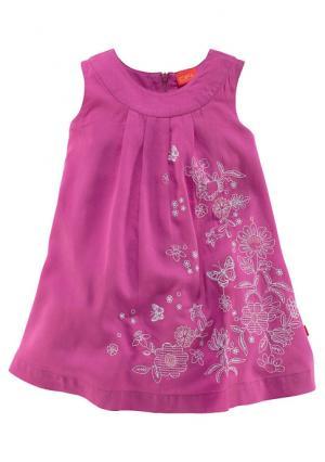 Платье Colors for Life. Цвет: ярко-розовый