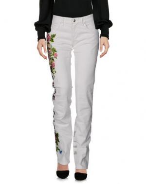 Повседневные брюки MANUEL LUCIANO. Цвет: белый