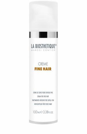 Кондиционер-маска для тонких волос La Biosthetique. Цвет: бесцветный