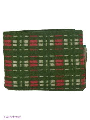 Одеяло Сукно. Цвет: зеленый, красный, белый
