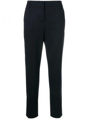 Классические укороченные брюки Dorothee Schumacher. Цвет: синий