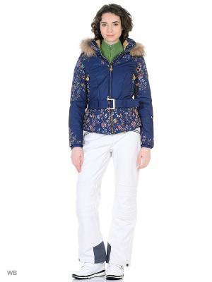 Куртка горнолыжная Stayer. Цвет: темно-синий, голубой, фиолетовый, оранжевый