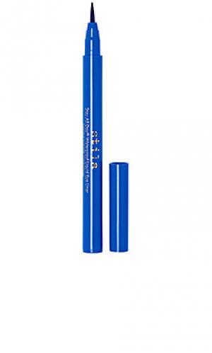 Жидкий карандаш для подводки век stay all day Stila. Цвет: синий