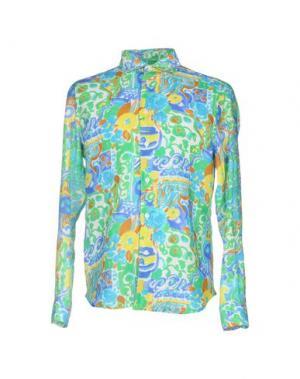 Pубашка MOSAIQUE. Цвет: светло-зеленый