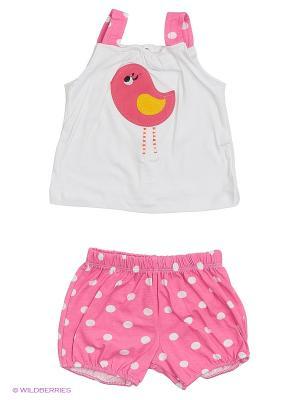 Комплект одежды Babycollection. Цвет: розовый