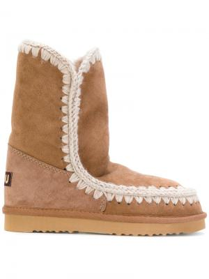 Ботинки Stivale Eskimo 24 Mou. Цвет: коричневый