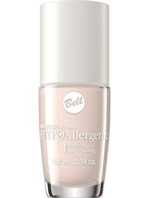 Лак для ногтей стойкий гипоаллергенный Bell Hypoallergenic French Nail Enamel , Тон 02. Цвет: персиковый