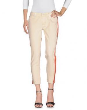 Джинсовые брюки HUDSON. Цвет: бежевый
