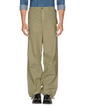 Повседневные брюки FRENCH CONNECTION. Цвет: зеленый