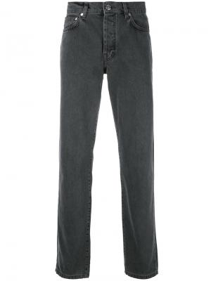Зауженные джинсы Han Kjøbenhavn. Цвет: серый