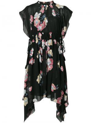 Платье Luisa Ulla Johnson. Цвет: чёрный