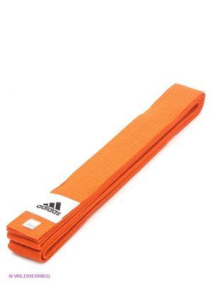 Пояс для единоборств Adidas. Цвет: оранжевый