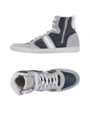 Высокие кеды и кроссовки CULT. Цвет: темно-синий