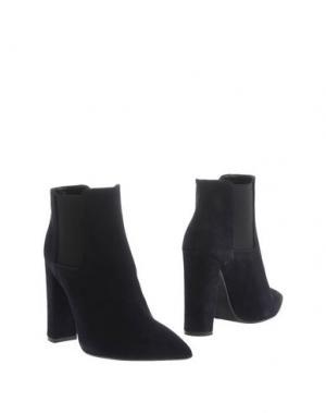 Полусапоги и высокие ботинки LE STELLE. Цвет: темно-синий