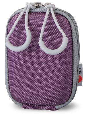 Era Pro EVA Чехол для фотоаппарата EP-010943  9.7х6,5х3,6 см. фиол. Цвет: фиолетовый