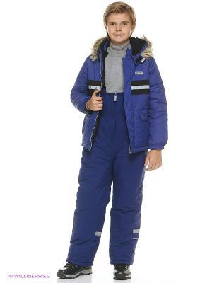 Куртка для мальчика Cherubino. Цвет: темно-синий