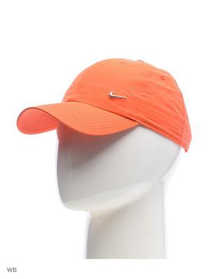 Бейсболка U NSW H86 METAL SWOOSH Nike. Цвет: оранжевый