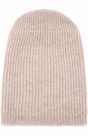 Кашемировая шапка бини Tegin. Цвет: светло-бежевый
