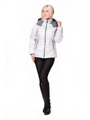 Куртка ROSSO-STYLE. Цвет: серый