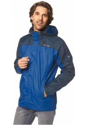 Куртка 3 в 1 POLARINO. Цвет: темно-синий, черный