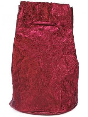 Drawstring backpack Zilla. Цвет: красный