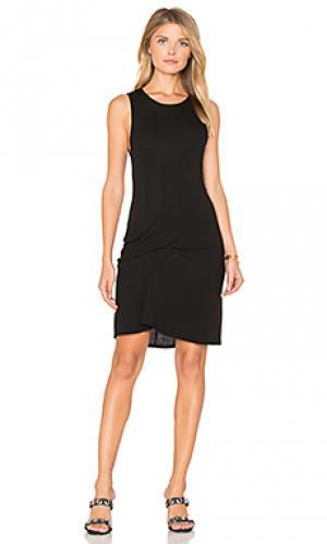 Платье-майка ricky Riller & Fount. Цвет: черный