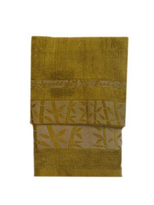 Комплект полотенец 2 предмета La Pastel. Цвет: оливковый