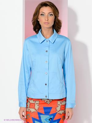 Жакет T&M. Цвет: голубой