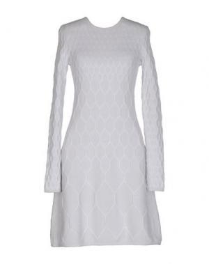 Короткое платье VICEDOMINI. Цвет: небесно-голубой